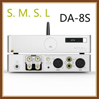 SMSL DA-8S DA8S NJW1194 Desktop High Performance Digital Power Amplifier Full Balanced Design Support RCA/XLR/BT Input 1