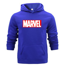 Pullover All-match Print Fleece Marvel Sweatshirts Spring Sweat Sportswear Men Slim Hoodies Hooded Light Girl Oversize
