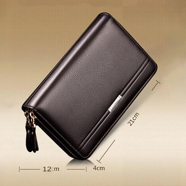 Мужской деловой портфельчик из мягкой искусственной кожи 2