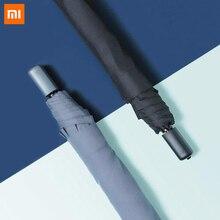 Горячая Xiaomi 90FUN складной зонт из алюминиевого сплава труба Практичный Водонепроницаемый неавтоматический дождливые и солнечные зонтики
