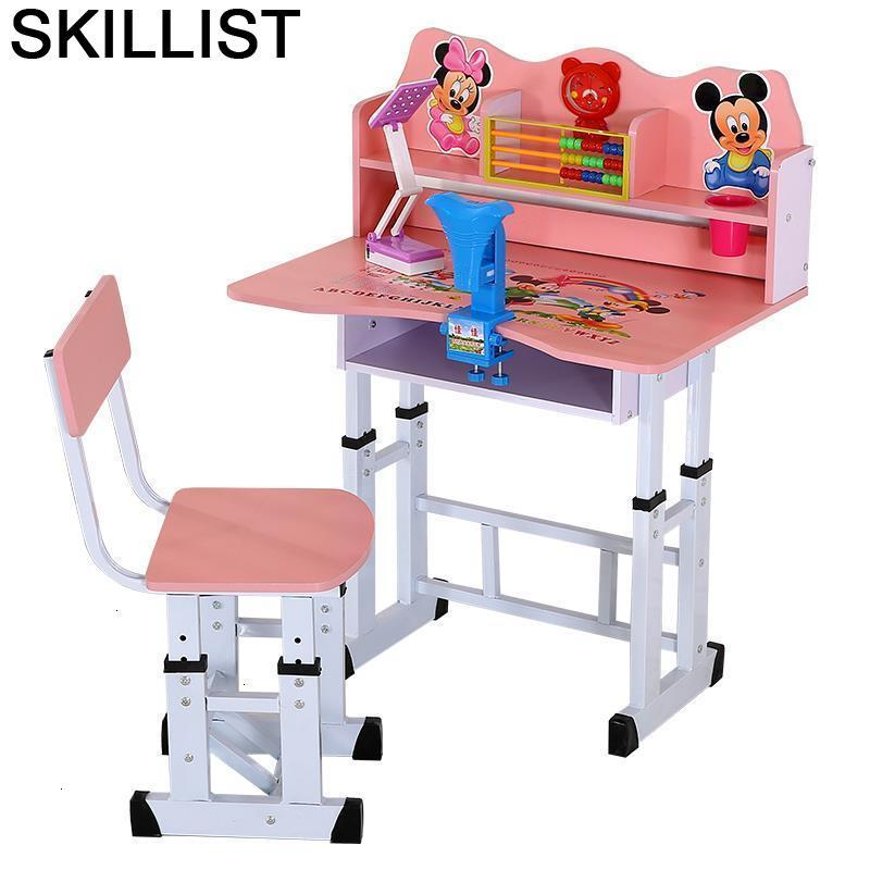Per Bambini Toddler Estudo Infantiles Pupitre Y Silla Play De Estudio Child Adjustable For Mesa Infantil Enfant Study Kids Table