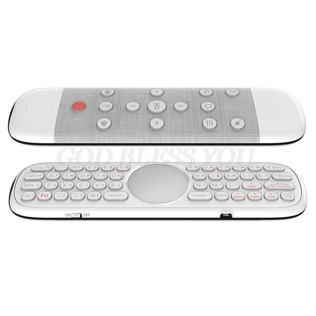 Q40 2.4G ماوس هوائي لاسلكي للتحكم عن بعد صوت تعمل مؤشر الذكية مع لوحة المفاتيح 6 محور جيروسكوب ل مربع التلفزيون الذكية جهاز كمبيوتر صغير