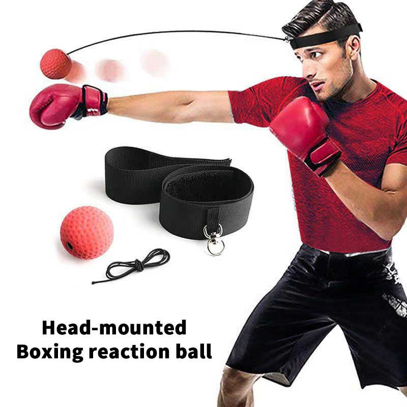 Kick Boxing Reflex Ball Head Band Fighting Speed Training Workout Punch Ball Muay Funny Exercise Fitness Equipment Accessories Aliexpress