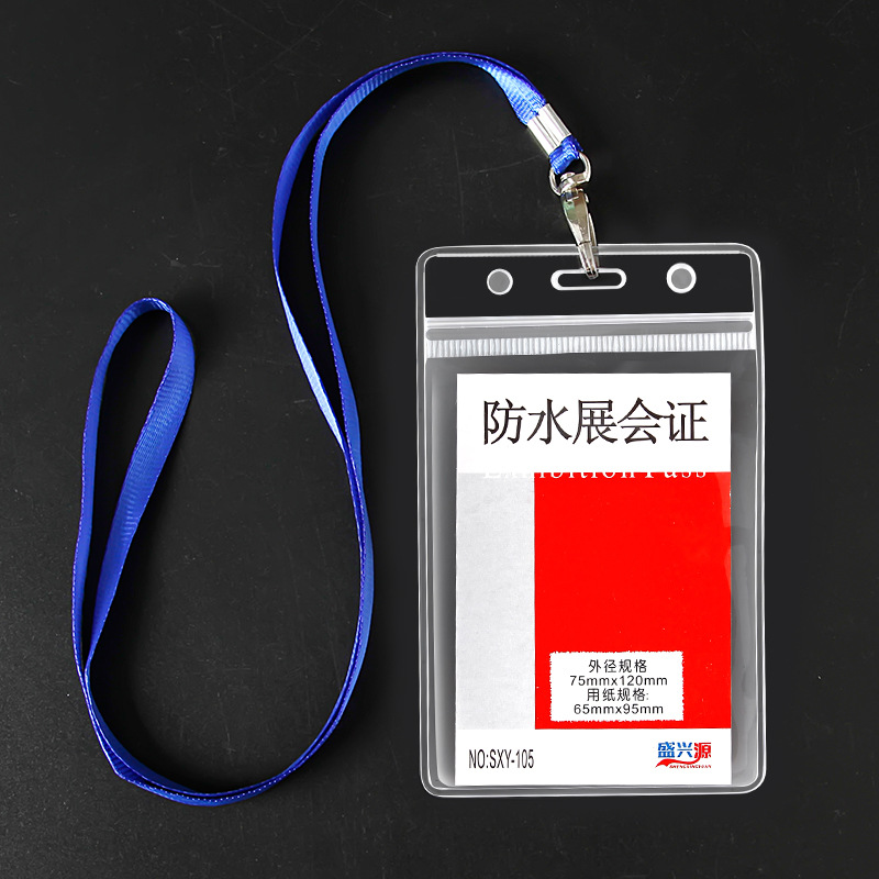 Factory Direct Selling PVC Soft Silcone Transparent Waterproof Badge School Card Bank ID Card Access Control Badges Bus Card Hol