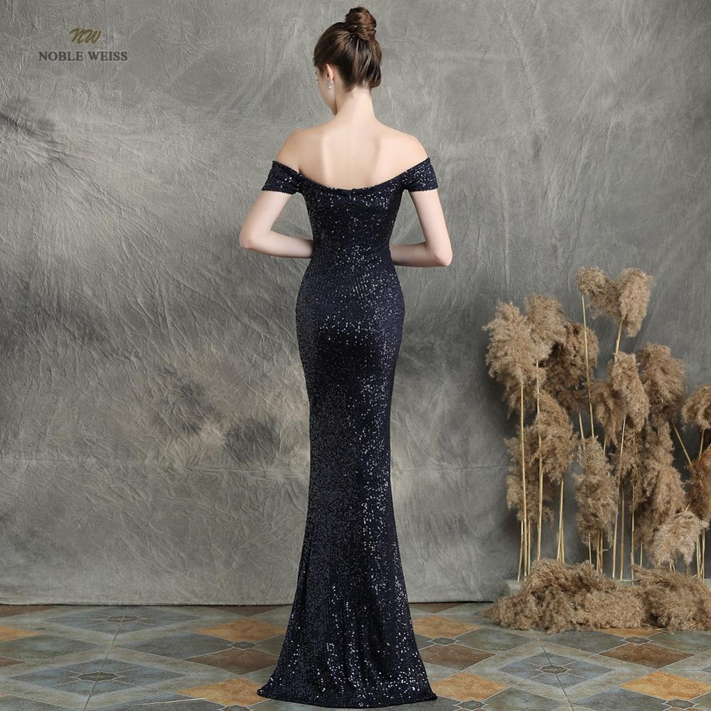 prom dresses 2019 black mermaid elastic party dress sexy split vestidos de gala boat neck long prom gown