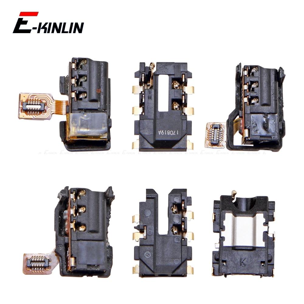 Ear Earphone Jack Audio Flex For HuaWei P30 P20 P10 P9 Lite Mini 2016 Headphone Port Connector Repair Parts