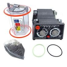 Capacidade 3 kg tambor máquina de polimento, jóias tumbler rotativo, máquina de cair, mini-tumbler, jóias ferramentas & equipamentos