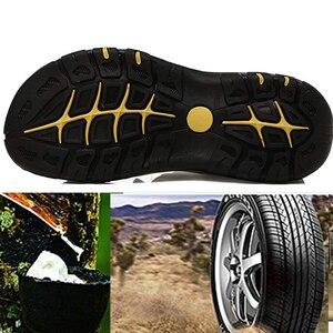 Image 5 - CUNGEL nouveau mâle chaussures en cuir véritable hommes sandales été hommes chaussures plage sandales homme mode en plein air espadrilles décontractées taille 48