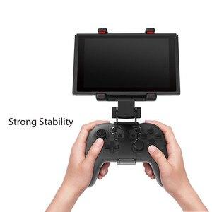 Image 4 - Nintend Schalter Konsole NS Lite Mini Smart Clip Clamp Halter Stand Halterung Spiel Unterstützung Für Nintendo Schalter Pro Controller