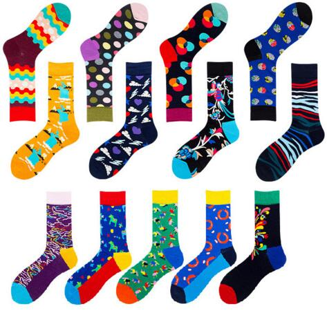 Men's socks sweat-proof breathable deodorant sports men's cotton socks casual fashion happy socks retro women men socks k2793