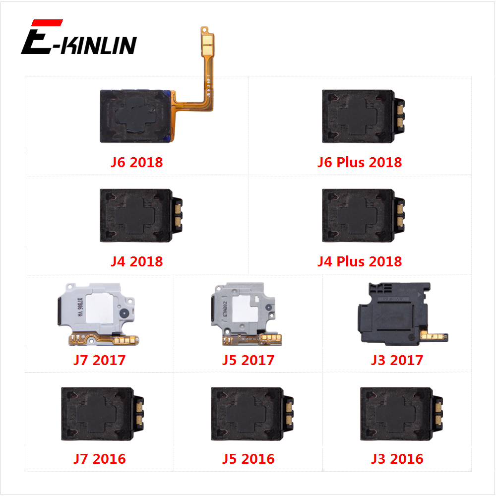 Loudspeaker For Samsung Galaxy J6 J4 Plus 2018 J7 J5 J3 2017 2016  Loud Speaker Buzzer Ringer Flex Replacement Parts