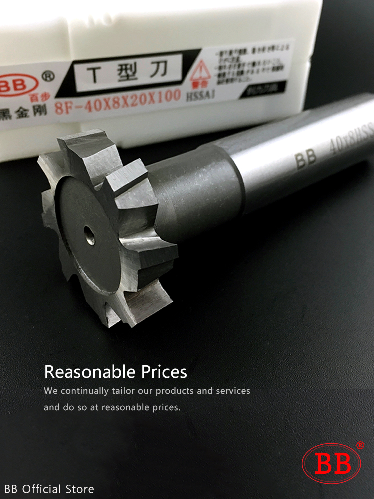 Ultimate SaleBB Milling-Cutter Router-Bit Woodruff-Key T-Slot Metal for HSS Seat 1-12mm-Diameter/8-50mm