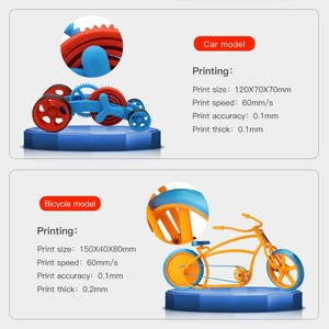 Image 2 - ANYCUBIC 3D מדפסת ערכת I3 מגה עם 1Kg PLA נימה TFT צבע מסך מגע החדש הדפסת DIY סט 3d דרוקר impresora 3d