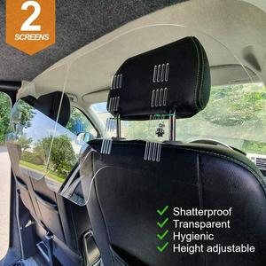 Car Taxi Driver's Passenger Car Interior Transparent Anti Foaming Dust-Proof Anti-Fog Isolation Screen Protective Film Curtain