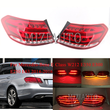 цена на MIZIAUTO Rear tail light Outer side For Mercedes-Benz E Class W212 E350 E300 E250 E63 2014-2016 Brake Light Rear Bumper Light