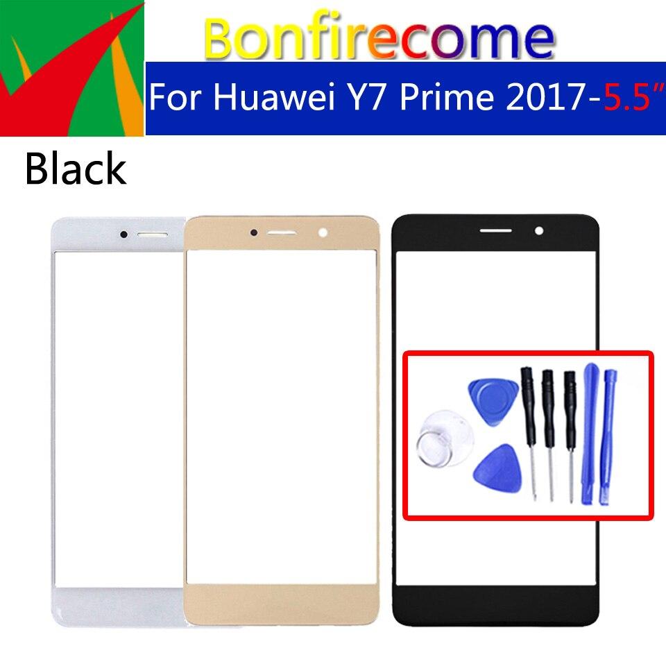 """5,5 """"Für Huawei Y7 Prime 2017 TRT-LX2 TRT-LX1 Vorder Touch Screen Glas Äußere Linse Für Huawei Nova Lite + LCD Glas Ersatz"""