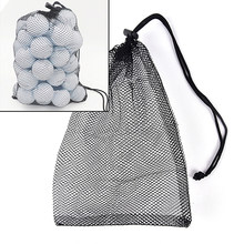 Nouvelle vente 30*20 cm Nylon maille filets sac poche balles de Golf Tennis de Table tenir support de transport sacs de rangement Sports de plein air(China)
