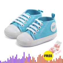 Buy One Get Two Candy Colors Classic Sport Sneakers Newborn Baby First Walkers Shoes Infant Toddler Soft Sole Anti-slip