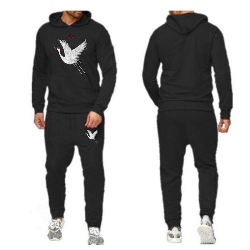 Fashion New Design Brand Fashion Men Sportswear Print Men Hoodies Pullover Hip Hop Mens Tracksuit Sweatshirts Clothing