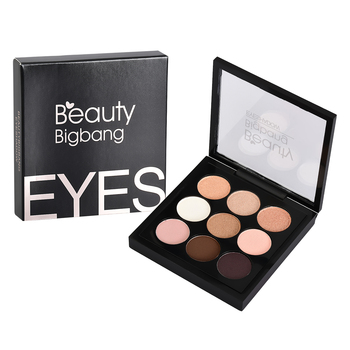 Beauty BigBang 9 Colors Eyeshadow Makeup Pallete Matte Shimmer Maquiagem Glitter Eye Shadow Cienie Do Powiek