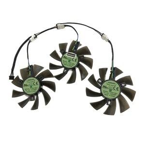 3 pièces/ensemble bricolage T129215BU ventilateur de carte graphique GPU VGA refroidisseur pour Powercolor RX 5700 XT Red Devil 8GB GDDR6 cartes vidéo refroidissement