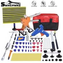 60 Pcs Car Body Paintless Repair Removal Tools Automotive Door Ding Dent Silde Hammer Glue Puller Repair Starter Set