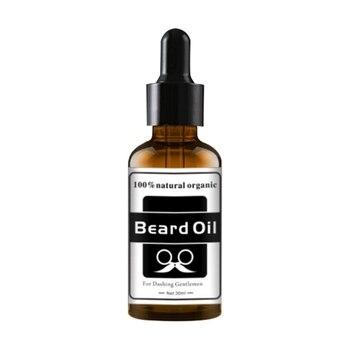 Aceite orgánico de barba Natural, aceite nutritivo para el crecimiento, pelo de barba, esencia más gruesa, bigote grueso para hombres