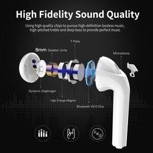 Image 2 - Langsdom T7R מיני Bluetooth אוזניות אלחוטי אוזניות עם טעינת תיבת סטריאו אמיתי Earbud אוזניות אפרכסת fone דה ouvido