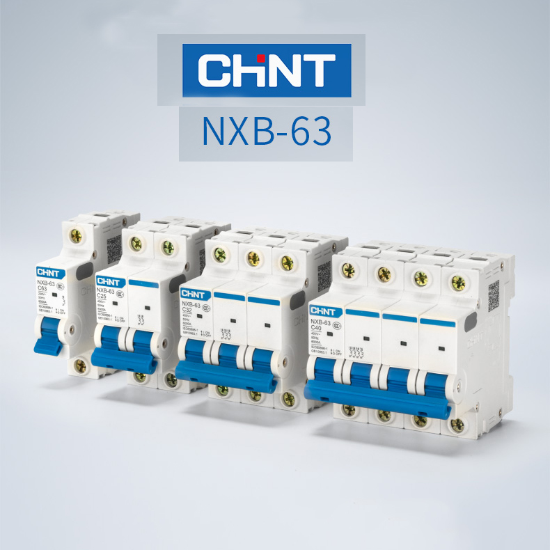 H6339ff7b568b41da805bb10e5ecfbc71W - 5Pcs x CHINT CHNT Mini Circuit Breaker  air switch NXB-63 HOUSE 1P  6A 10A 16A 20A 25A 32A  40A 63A 80A 100A 125A  Replace  DZ47