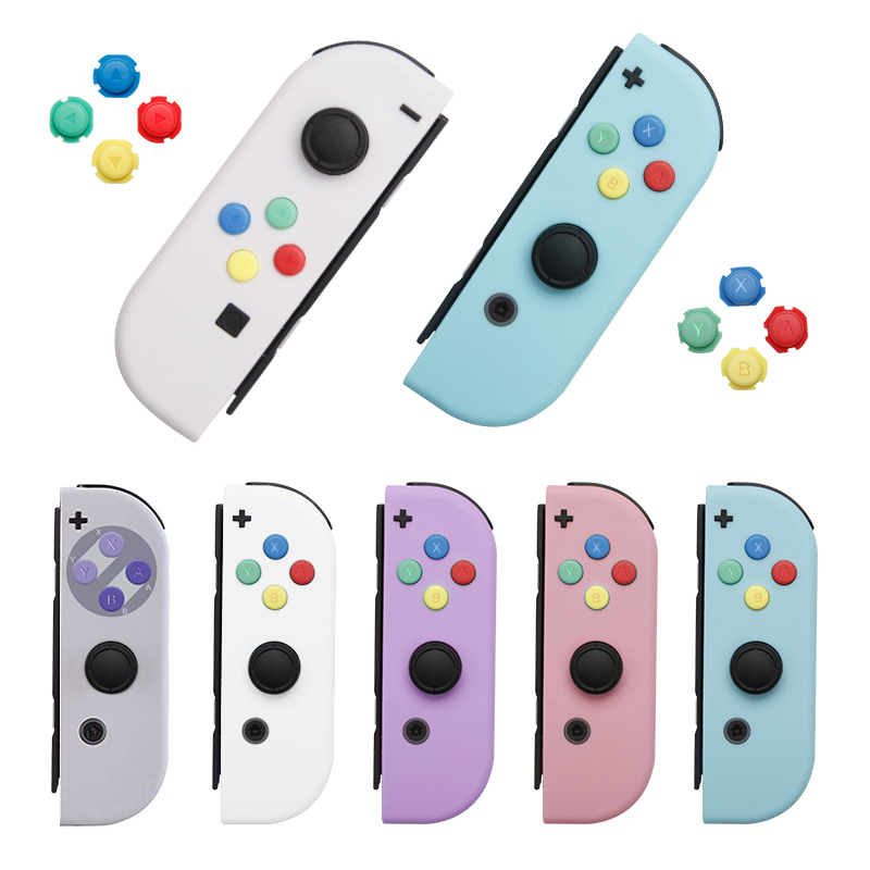 Original Design für Nintend Schalter NS Freude Con Ersatz Gehäuse Shell Abdeckung für NX JoyCons Controller Fall