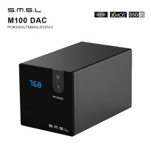 SMSL M100 Audio DAC USB AK4452 Hifi dac Decoder DSD512 Spdif USB DAC Amp XMOS XU208 Digital Amplifier Optical Coaxial Input(China)