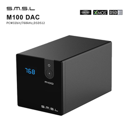 SMSL M100 Audio DAC USB AK4452 Hifi dac Decoder DSD512 Spdif USB DAC Amp XMOS XU208 Digital Amplifier Optical Coaxial Input