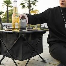 1Pcs Folding Camping Strand Tisch für Grill Picknick Heckklappe für Outdoor Reise