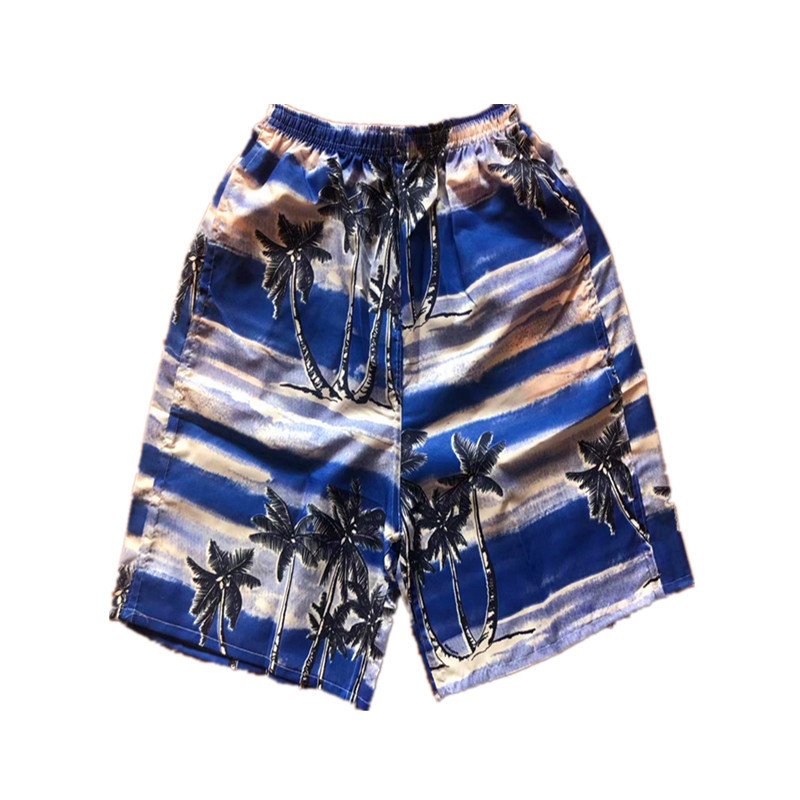 MEN'S Beach Pants Loose-Fit Quick-Dry Casual Sports Booth Goods Short-Rafting Surfing Sea