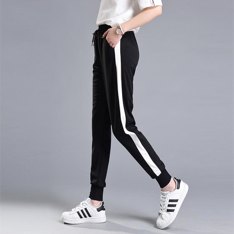 Athletic   Pants   Thin Harem   Pants   Skinny   Capri   Sweatpants Loose Casual Trousers Ankle Banded   Pants   Women's 2019 Autumn   Pants