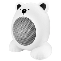 Leuke Cartoon Ruimte Draagbare Elektrische Heater voor Thuis Slaapkamer Bureau Tafel Keramische Heater Fan Mini Kleine Heater US pl-in Elektrische kachels van Huishoudelijk Apparatuur op