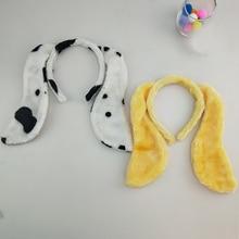 Tail Cosplay Ear-Headband Animal Christmas Carnival Wear-Props Hair Halloween Adult Dog