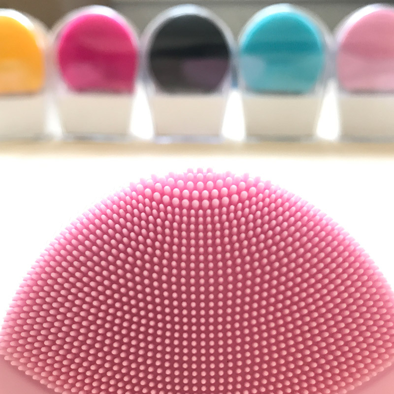 Electric Cleansing Instrument Luna Mini 2 Waterproof, 8 Level, Silicone Facial Cleansing Brush Silicone  Deep Pore Cleaning Mass