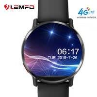 LEMFO LEM X inteligentny zegarek Android 7.1 LTE 4G Sim WIFI 2.03 Cal 8MP aparat gps tętno prezenty na nowy rok Smartwatch dla mężczyzn kobiety