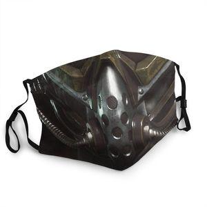 Многоразовая маска для лица Mortal Kombat Kabal, маска для лица для взрослых, Sub Zero Game, MKX, Liu Kang, пылезащитный респиратор с защитой от пыли