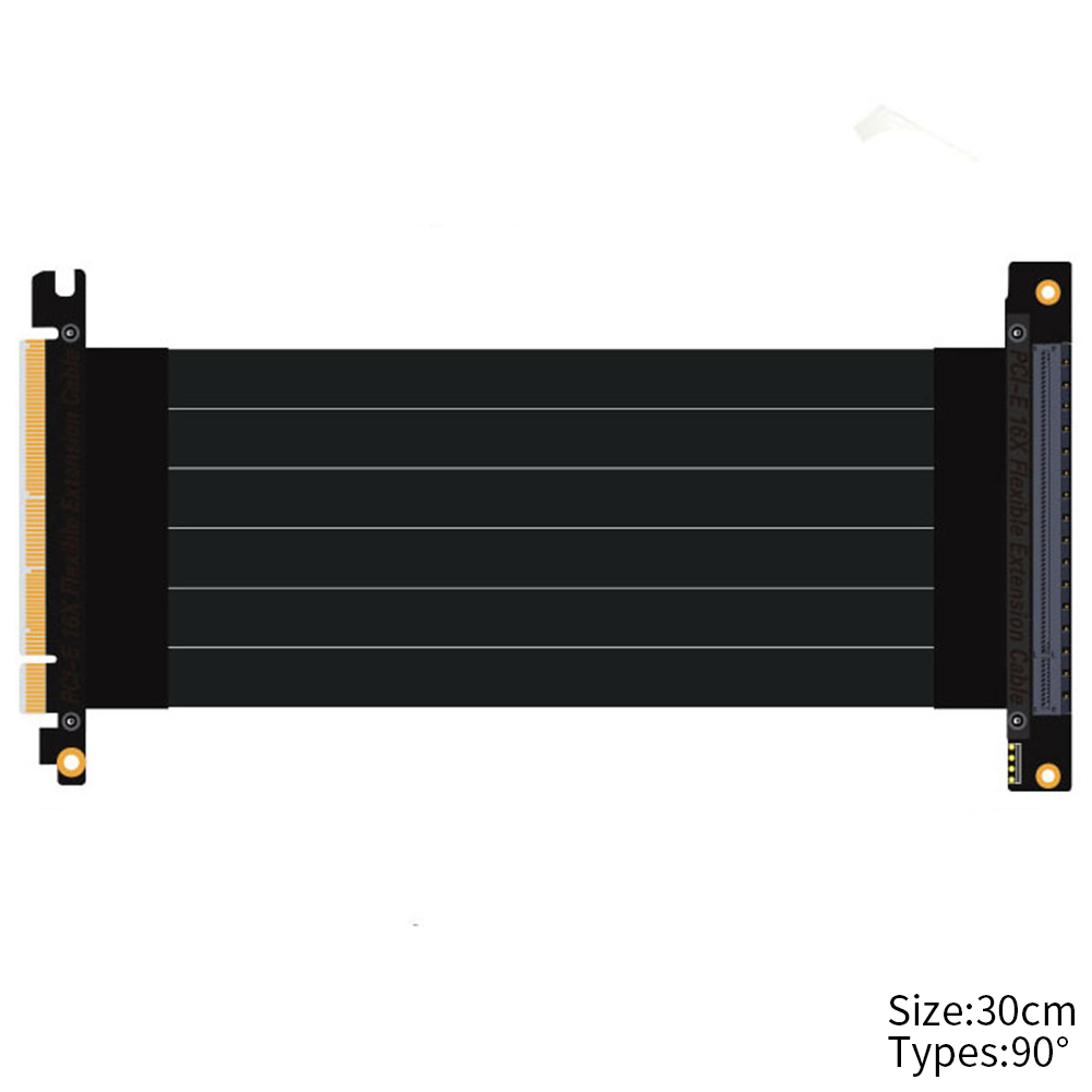 Parts Adapter Pci-e 3.0 16x To Pcie X16 Graphics Cards Stable PC Slot High Speed Connector Riser Accessory Extension Cable Ports