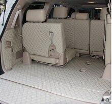 מכונית נסיעות מותג מיוחד תא מטען מחצלות עבור טויוטה לנד קרוזר 200 7 מושבים 2017 עמיד למים אתחול שטיחים עבור טויוטה LC200 4 עונה