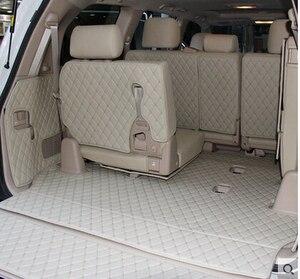 Image 1 - 車旅行ブランド特別のトランクマットトヨタランドクルーザー 200 7 席 2017 防水ブーツカーペットトヨタ LC200 4 シーズン