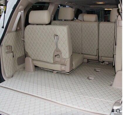 車旅行ブランド特別のトランクマットトヨタランドクルーザー 200 7 席 2017 防水ブーツカーペットトヨタ LC200 4 シーズン