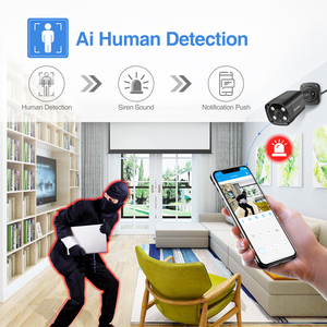 Image 4 - Techege 8CH 5MP POE AI CCTV Security Camera System Kit Face Detection Two Way Audio Outdoor Video Surveillance Camera Kits P2P
