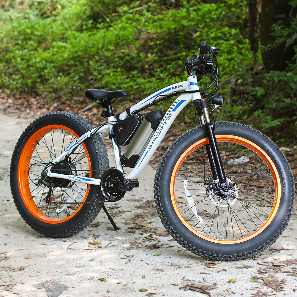 EcoRider E6-5 E6-5 48v 26inch 2 wheel Electric bicycle Big Fat Tire Snow E bike Off Road Bicycle ( Sample Free Postage) 4