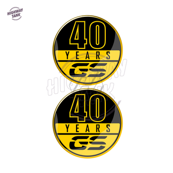 Motorcycle 40 Years GS Decals Case for BMW 40 Years GS Decals F700GS F800GS F850GS R1200GS R1250GS etc image