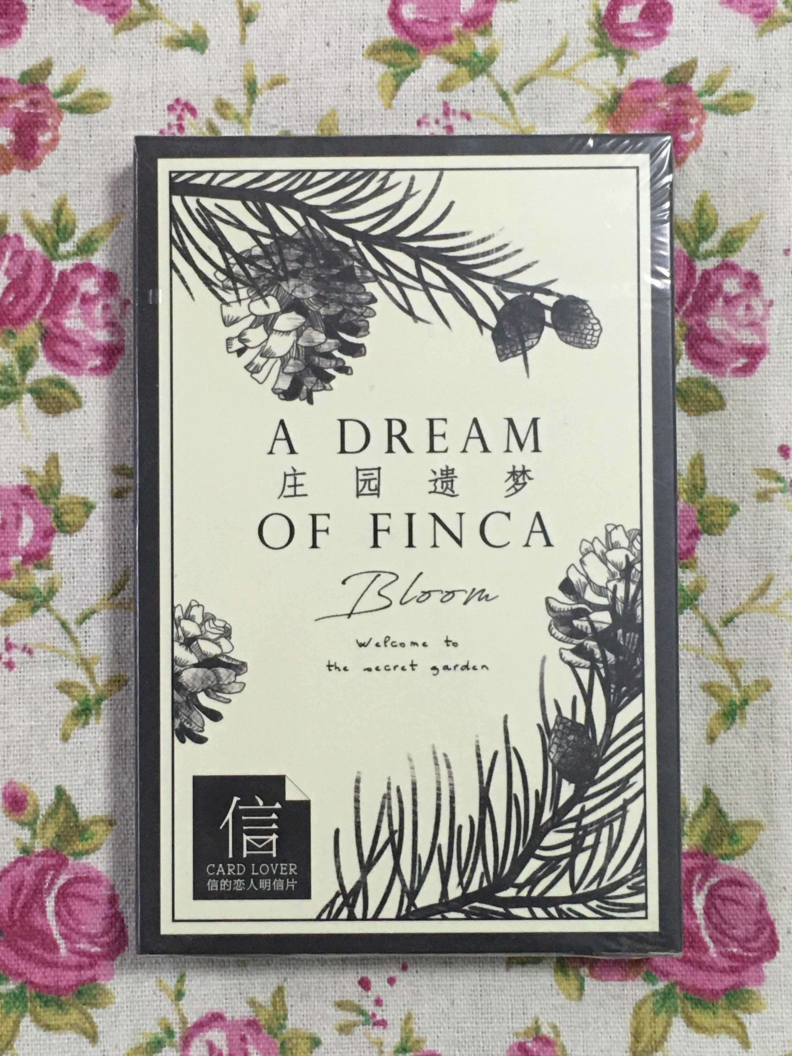 P175- Dream Flower Paper Postcard(1pack=30pieces)