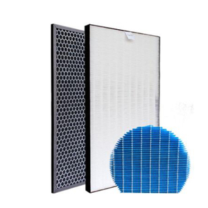 Image 1 - For Sharp Air Purifier KC D40E W KC D50 KC E50 KC F50 KC D40E Heap Filter Actived Carbon Filter 40*22cm Air Humidifier Parts