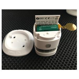 Image 5 - Беспроводной умный датчик дыма HEIMAN Zigbee с противопожарной сигнализацией CE ROSH EN14604, одобренный датчик дыма zigbee, работает с Kaku